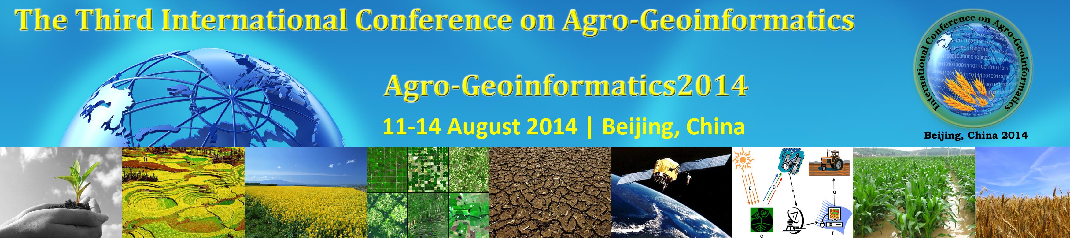 Agro-Geoinformatics 2014
